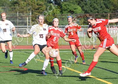 North Attleboro - Oliver Ames Girls Soccer 9-13-19