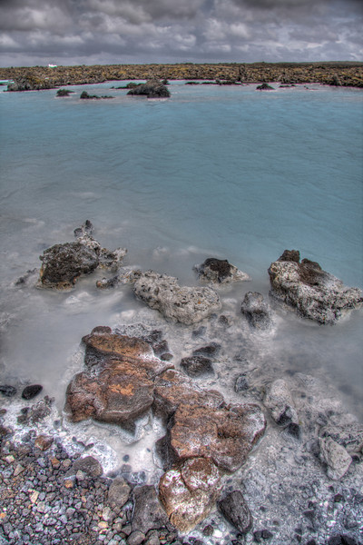The Blue Lagoon. Reykjavik region, Iceland (HDR)