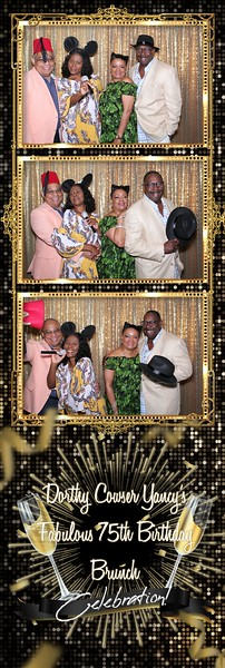 2019.07.27 Dorothy Cowser Yancy's Fabulous 75th Birthday Brunch