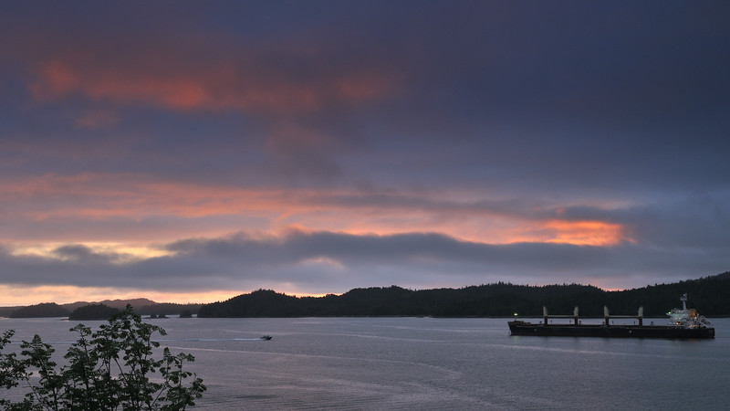 Still evening in Prince Rupert