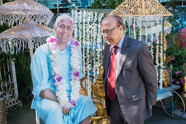 Ambassador Choudhuris Visit
