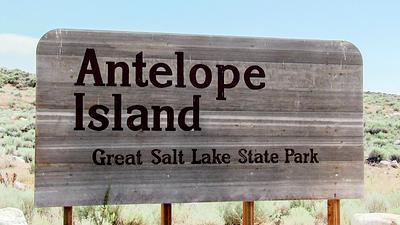 WAntelope Island State Park Utah