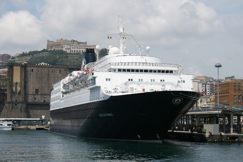 M/S BLEU DE FRANCE in Napoli.