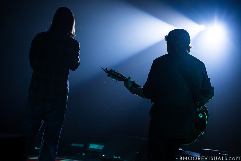 Mac Powell and Mark Lee of Third Day perform on May 16, 2013 at Countryside Christian Center in Clearwater, Florida