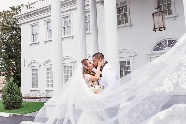 Dominic & Stephanie White House Wedding
