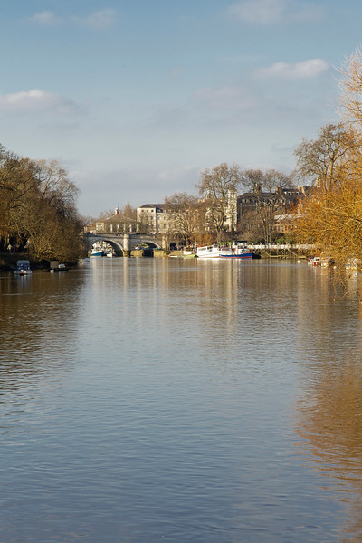 The Thames At  Richmond , London