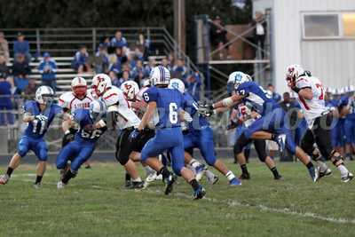 Football, Lisbon vs. Danville 9/20/2013