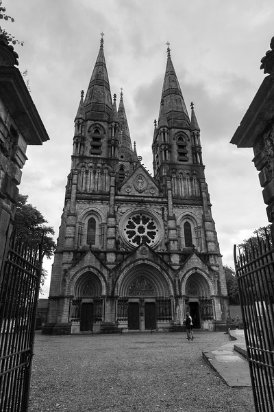 Fa�ade of cathedral, Saint Fin Barre's Cathedral, Cork, Republic of Ireland