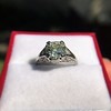 1.88ctw Platinum Filigree Solitaire Ring by C.D. Peacock, GIA S-T, VS 15