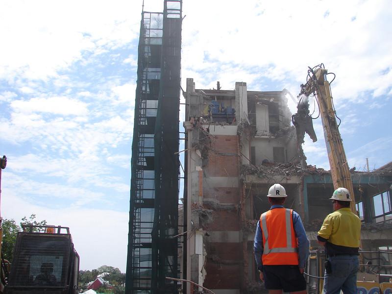 St Andrews Hospital Demolition