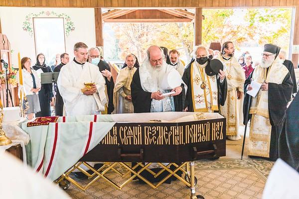 Burial Liturgy for Metropolitan Theodosius