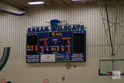 2014 Varsity Bball vs Lakeville North