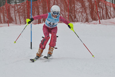 Provinciaux k2 Slalom Sutton 27 Fevrier AM