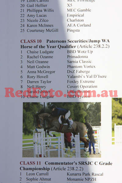 2011 08 28 Swan River ShowJumping Horse of the Year