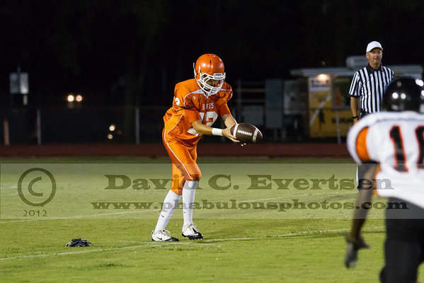 Boone JV Football #12 - 2012