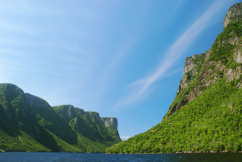 Western Brook pond - Parc national de Gros Morne, Terre-Neuve