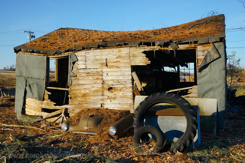 Car, House, and Tires