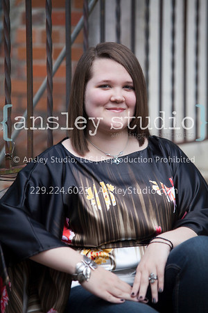 Sam: Senior Session in Railroad Square