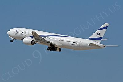 El Al Airline Boeing 777 Airliner Pictures