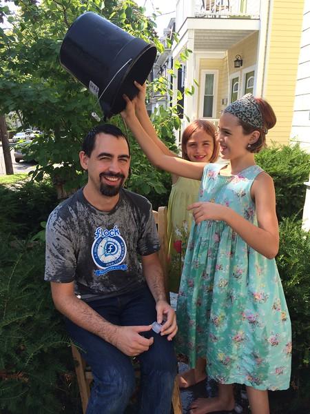 Ice Bucket Challenge as Fedora Project Leader.