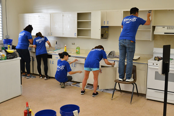 Central Middle School Takai Transition Center Spruce Up