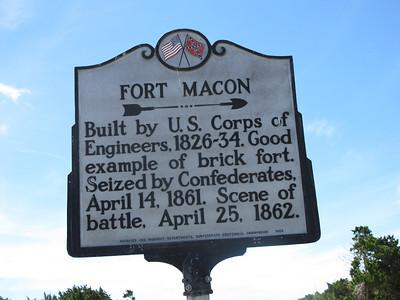 Fort Macon, Shackleford Bank, NC -- 07-08-13