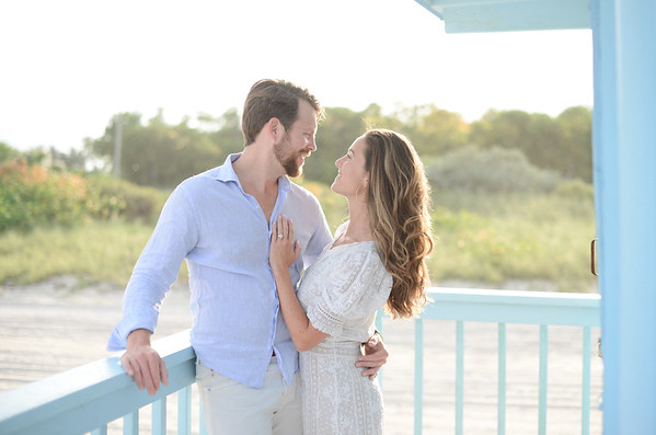 Columbia and Teddy's Engagement