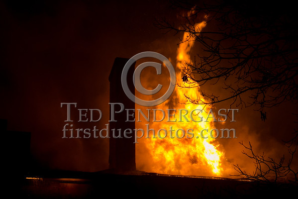 Belmont MA - 2 Alarms for a vacant building on McLean Hospital property
