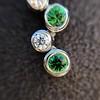Tiffany & Co. Diamond and Tsavorite Bubble Pendant 6