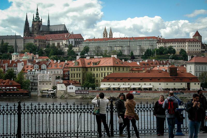 Prague Castle & Mala Strana, looking west from Old Town