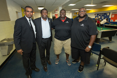 August 27th, 2015 Commissioner Dale VC Holness visits the Reitman Boys and Girls Clubs of Broward County