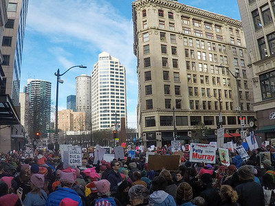 Womxn's March on Seattle