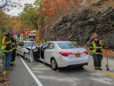 10-29-16 MVA With Injuries, Bear Mountain Bridge Road
