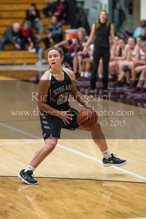 Girls Basketball, Galesburg vs Moline 12-14