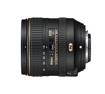 Skoraj profesionalec AF-S DX NIKKOR 16–80mm f/2.8–4E ED VR