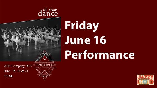 All That Dance June 2017