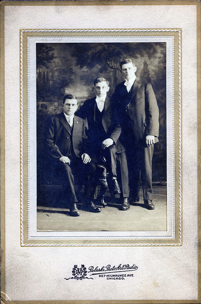 Bruno Z, center (and brothers?).