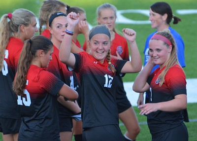 Varsity Girls Soccer: GA vs EA