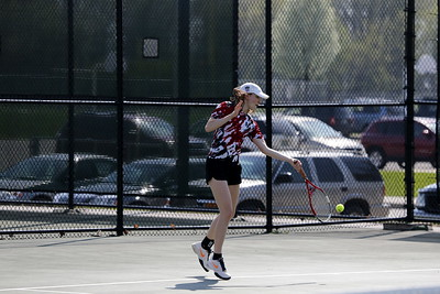 Girls Varsity Tennis - 4/26/2017 Ludington
