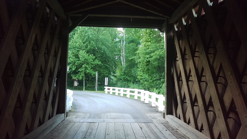 Thomas Covered Bridge Portal View