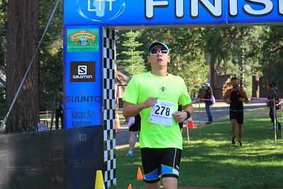 Lake Tahoe Tri Sprint Finish