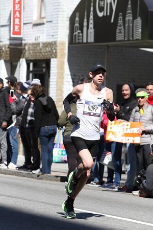 Men's 3rd Loop Heading Back - 2020 U.S. Olympic Marathon Trials