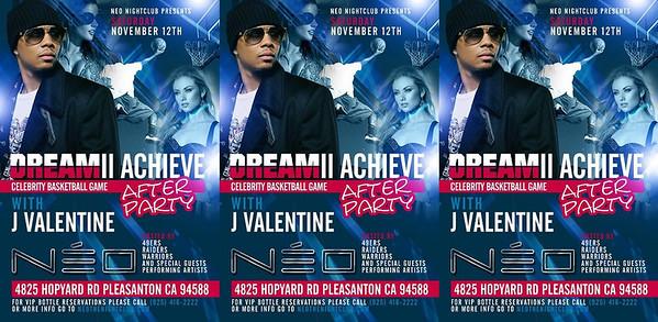 11/12 [Dream II Achieve w/ J Valentine@NEO]