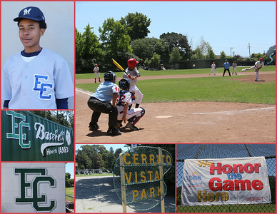 August EC Baseball @ Cerrito Vista Park, CA.