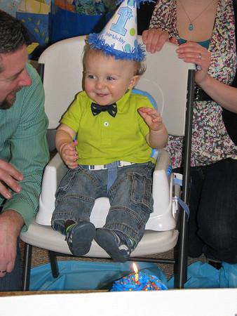 Jaxon's First Birthday