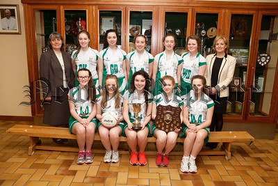 SACRED Heart Grammar School Junior Netball team won the Northern Ireland League after a superb 16 goals to 5 win over Lumen Christi College, Derry in the final. This is the first time in the history of the school that the netball team has won the league. Each of the players gave their best on the day in what was a tremendous overall team display. Frances Keenan was awarded player of the match. Pictured are Back Row left toright, Sr Julie McGoldrick (School Principal), Lauryn Mc Kay, Isabella Byrne, Nuala O'Neill, Niamh Reel, Orla Hughes, Siobhan McCaffery (Team Coach). Front Row left to right, Fianna McAloon, Beth Taggart, Frances Keenan (Captain), Kayla Burns, Emma Magee.