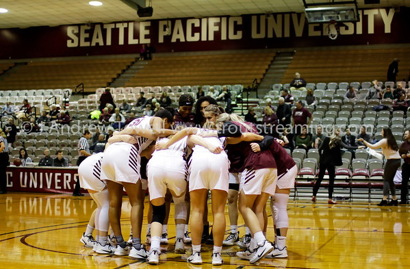 20200104 Womens Basketball Seattle Pacific University Falcons versus University of Alaska Fairbanks Nanooks Snapshots