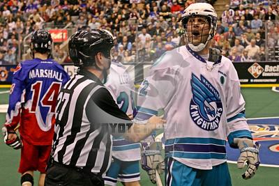 4/3/2015 - Rochester Knighthawks vs. Toronto Rock - Air Canada Centre, Toronto, ON