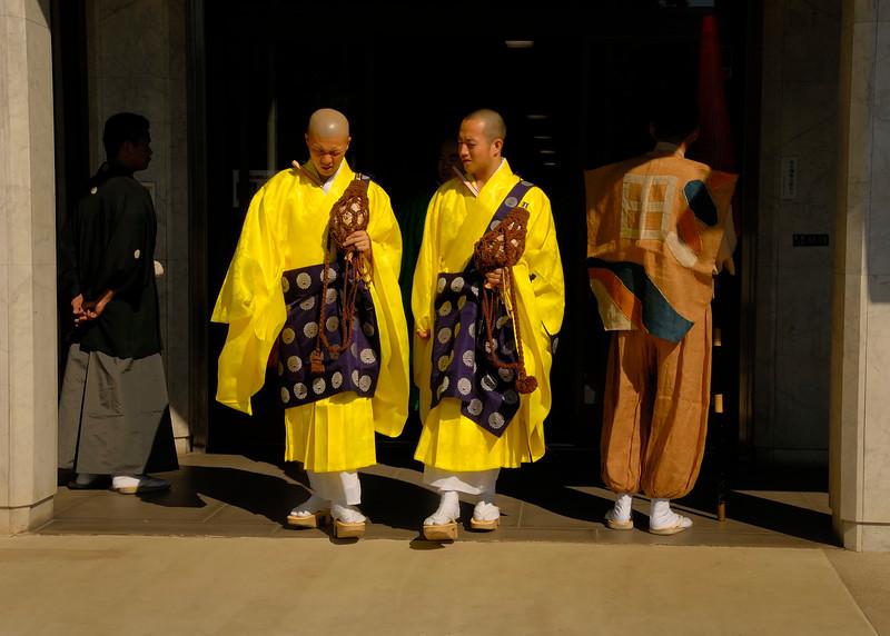 Priest Parade at Tomioka Hachimangu