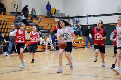 South Windsor Junior Girls Basketball, 2009-02-07, Gators vs Falcons